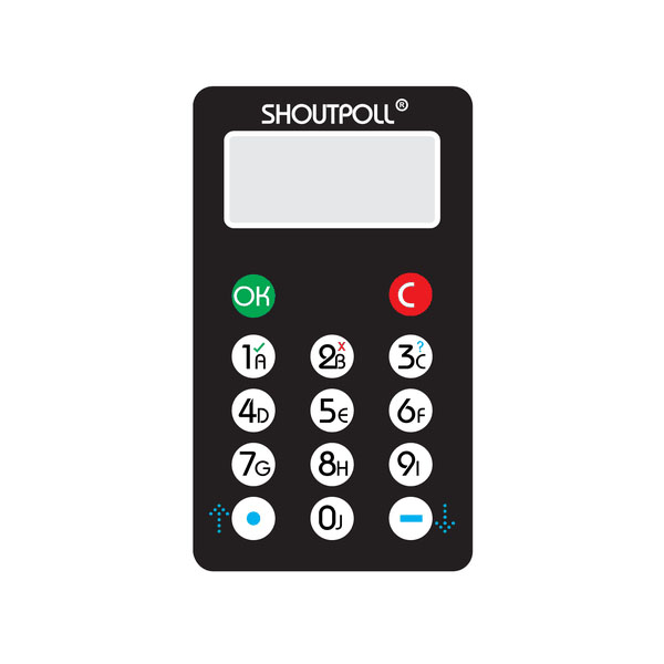 Low Price Audience Response Systems Affordable Keypads